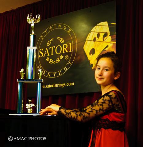 Winner of 10th Satori Strings Contest
